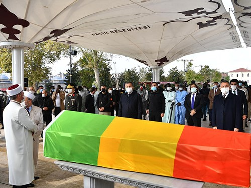 Governor Yerlikaya Attended the Former President of Mali Toure's Funeral